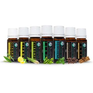 ANTIVIRAL set of 7 Essential Oils + Hand Sanitizer Gel
