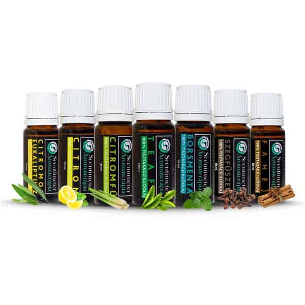 100% Pure Set of 7 Essential Oils ANTIVIRAL SEPTET