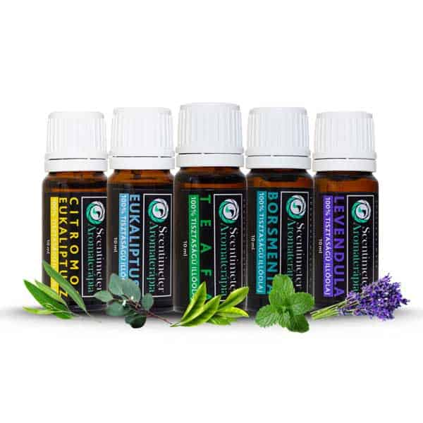 100% Pure Set of 5 ASTHMA Essential Oils