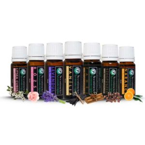 100% Pure Set of 7 Essential Oils HARMONY SEPTET